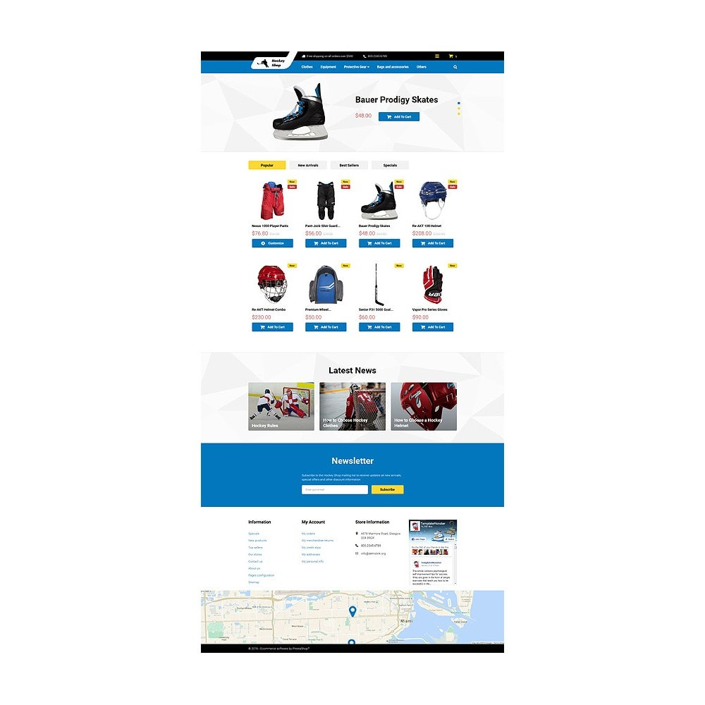 theme - Sport, Aktivitäten & Reise - Hockey Shop - 10