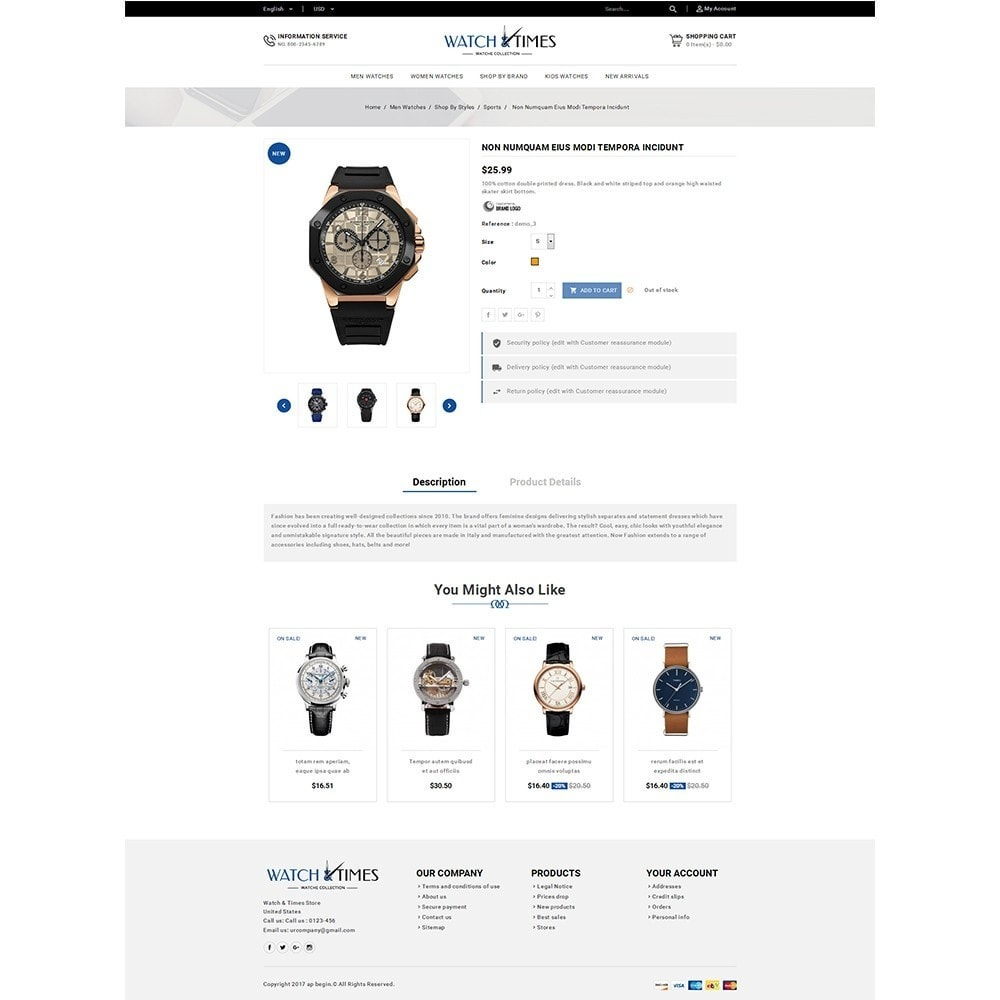 theme - Bijoux & Accessoires - Watch & Times Store - 5