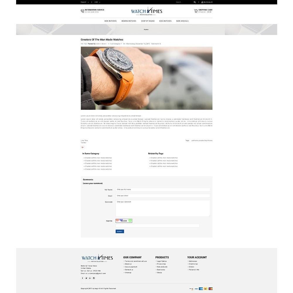 theme - Bijoux & Accessoires - Watch & Times Store - 8