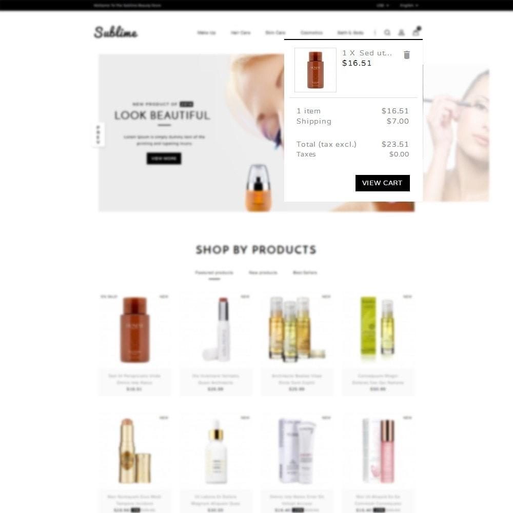 theme - Zdrowie & Uroda - Sublime Beauty Store - 7