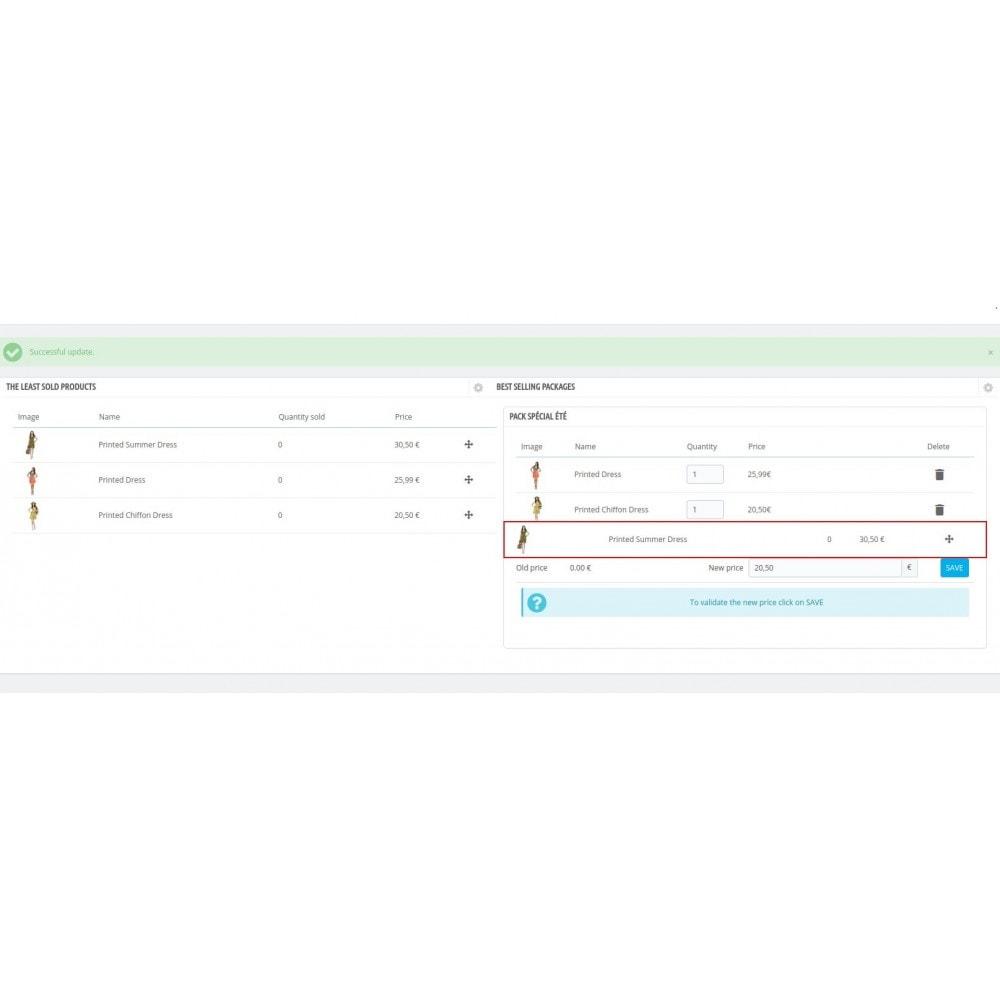 module - Kruisverkoop & Pakketaanbiedingen - Suggest Pack - 4