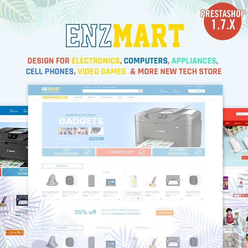 theme - Elektronica & High Tech - Electronics, computers, appliances Supermarket - 1