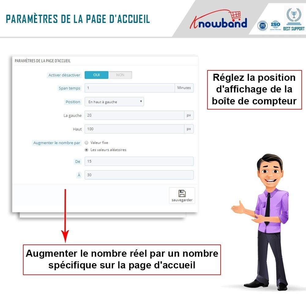 module - Information supplémentaire & Onglet produit - Knowband - Compteur de Vues de Page - 4