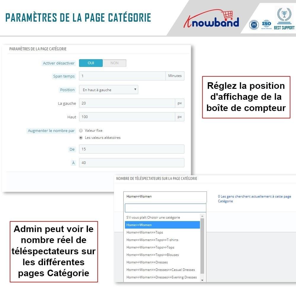 module - Information supplémentaire & Onglet produit - Knowband - Compteur de Vues de Page - 5