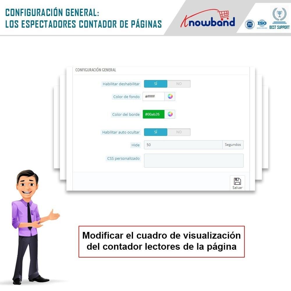 module - Informaciones adicionales y Pestañas - Knowband - Contador de visualizaciones de la página - 3