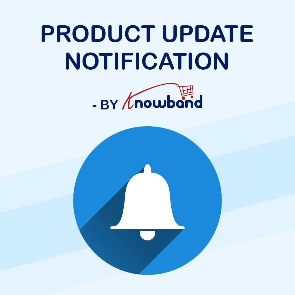 module - Emails & Notificaties - Knowband - Product Update Notification - 1