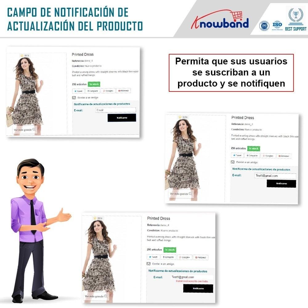 module - E-mails y Notificaciones - Knowband - Notificación de Actualización de Producto - 2