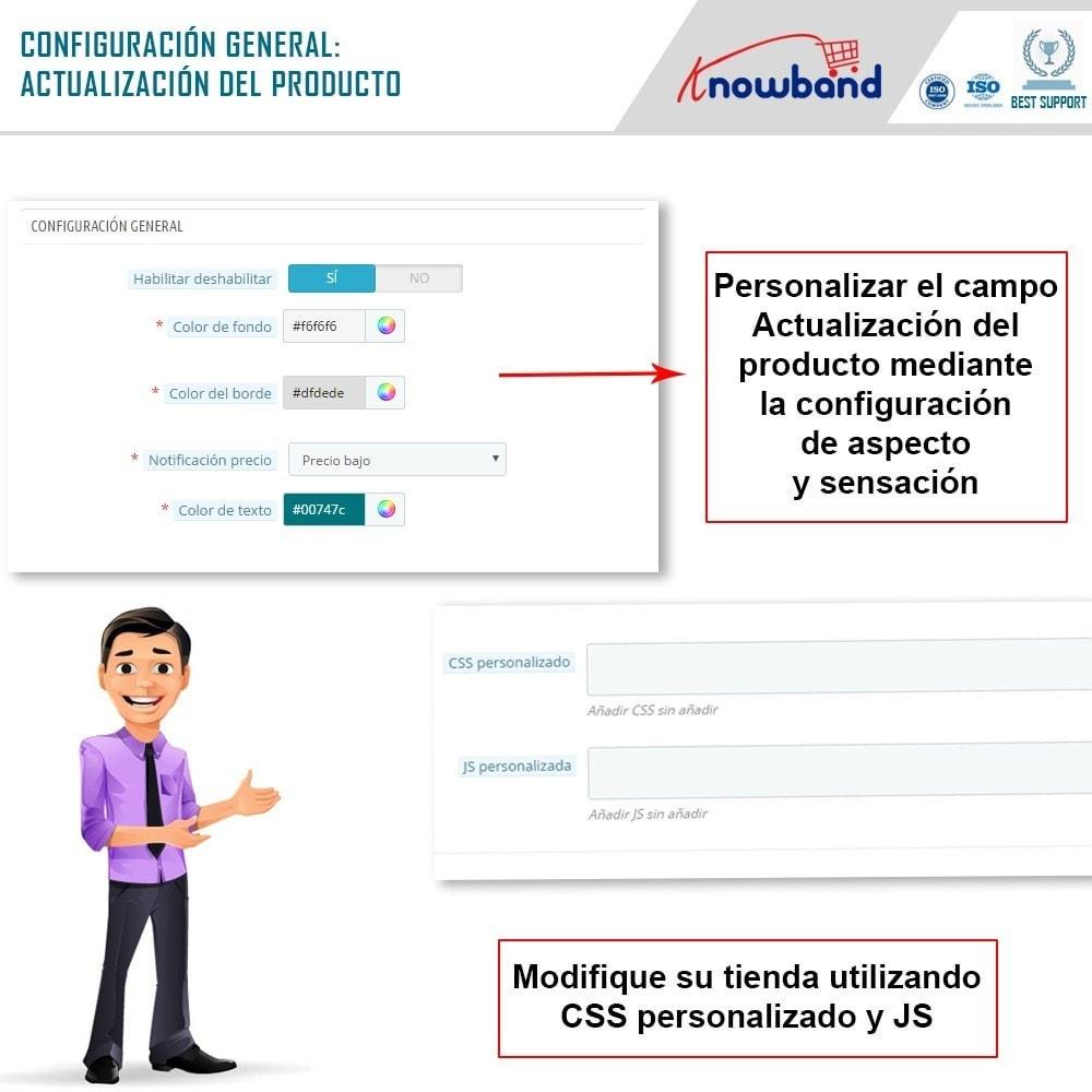 module - E-mails y Notificaciones - Knowband - Notificación de Actualización de Producto - 3