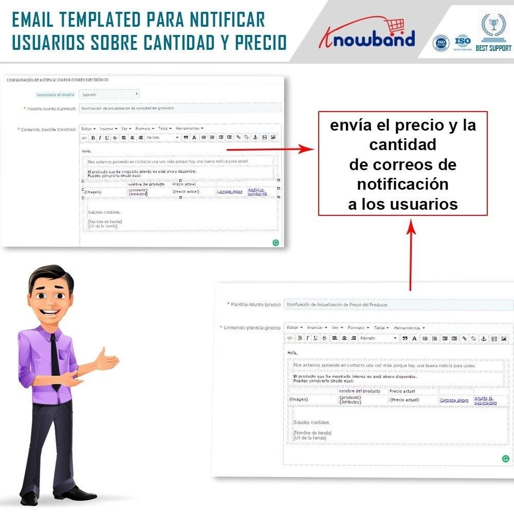 module - E-mails y Notificaciones - Knowband - Notificación de Actualización de Producto - 5