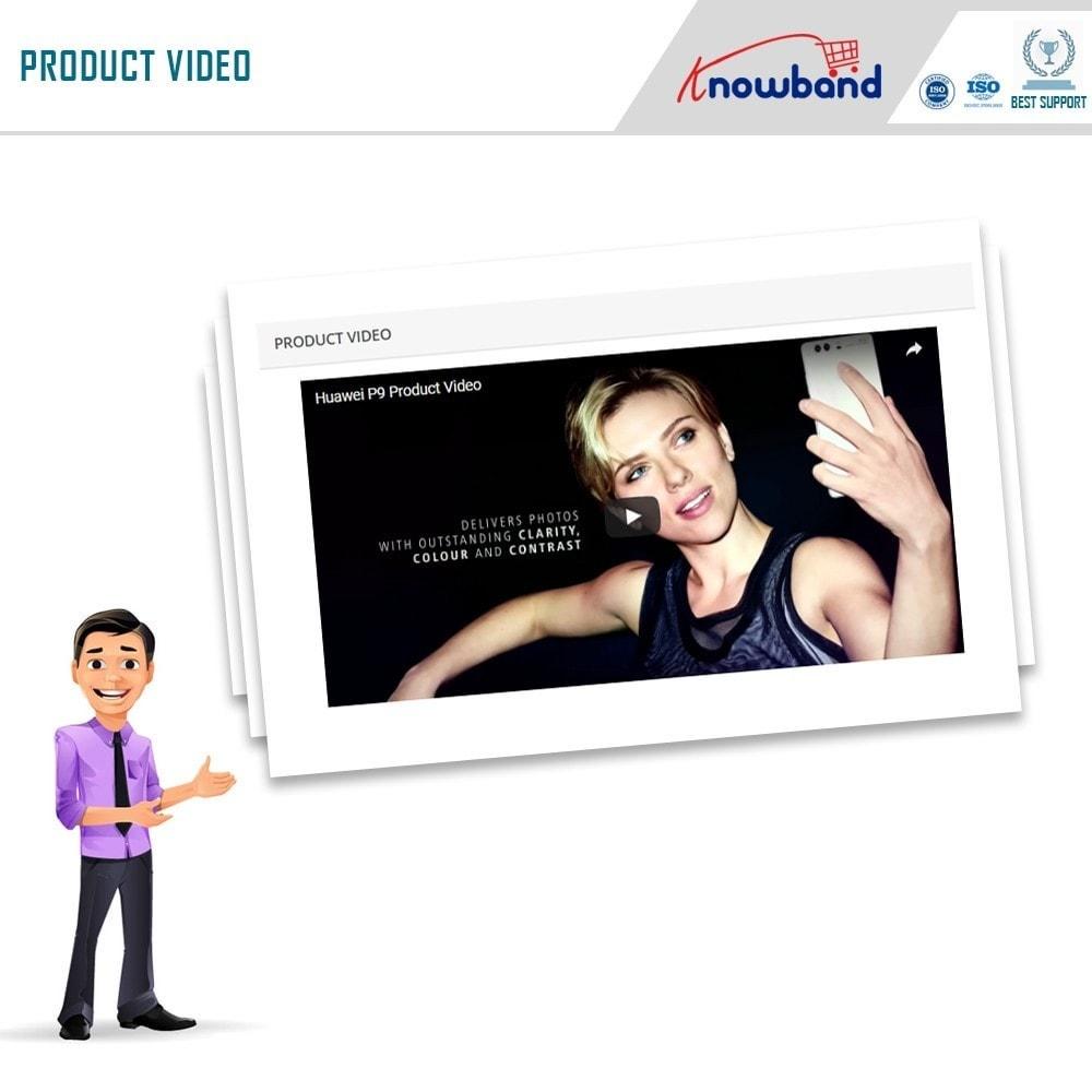 module - Video & Musica - Knowband - Video Prodotto - 4