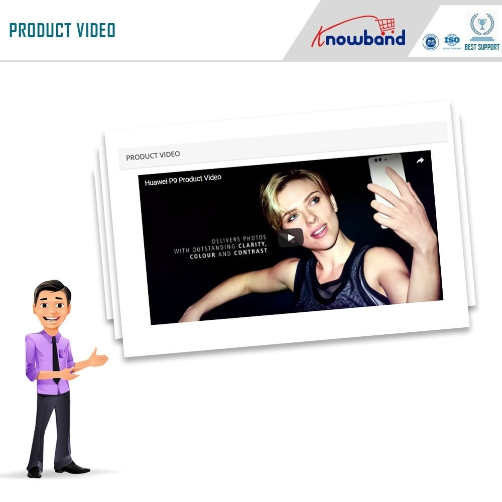 module - Videos & Music - Knowband - Product Videos (Youtube,Vimeo & Dailymotion) - 4
