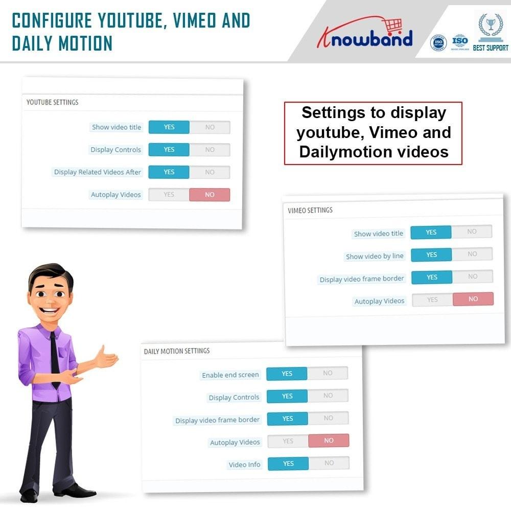 module - Videos & Musik - Knowband- Produkt video - 7