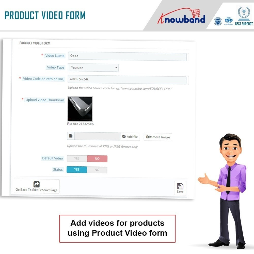 module - Wideo & Muzyka - Knowband - Product Video - 8