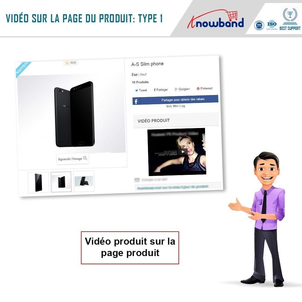 module - Vidéo & Musique - Knowband - Vidéo Produit - 2