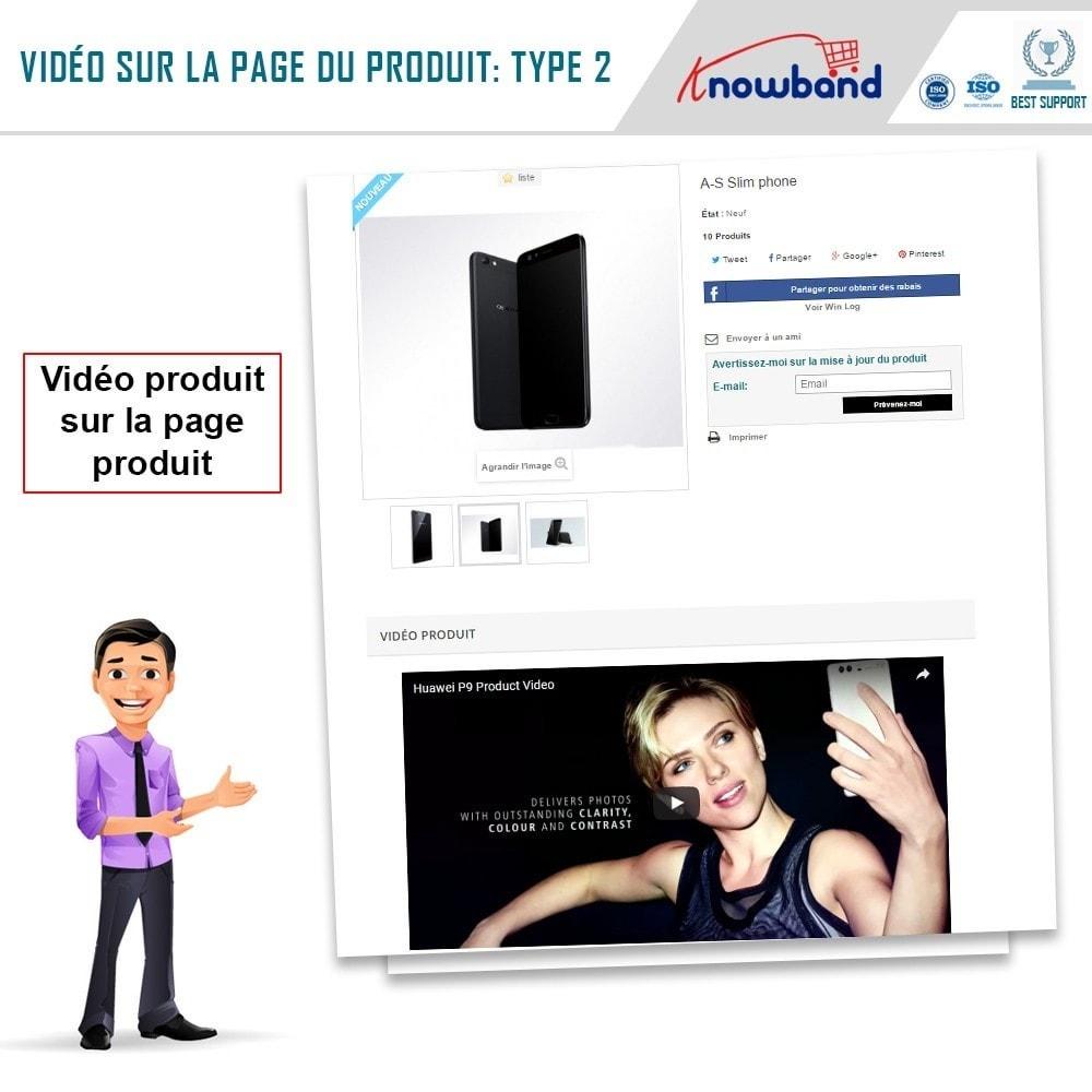 module - Vidéo & Musique - Knowband - Vidéo Produit - 3
