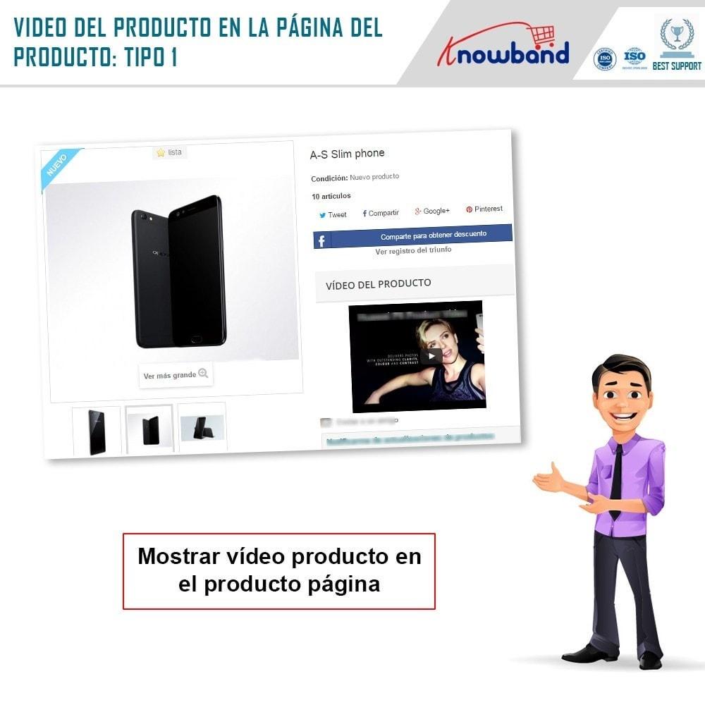 module - Vídeos y Música - Knowband - Video del Producto - 2