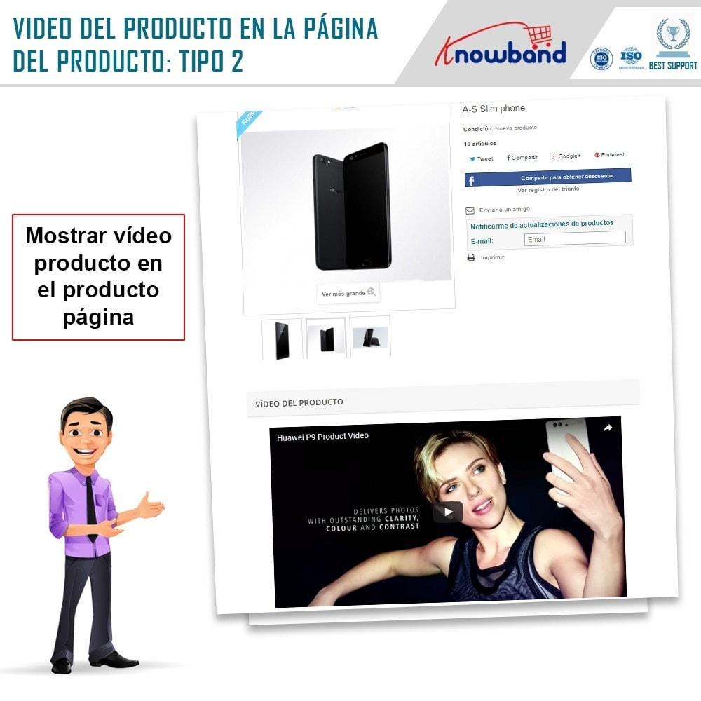 module - Vídeos y Música - Knowband - Video del Producto - 3