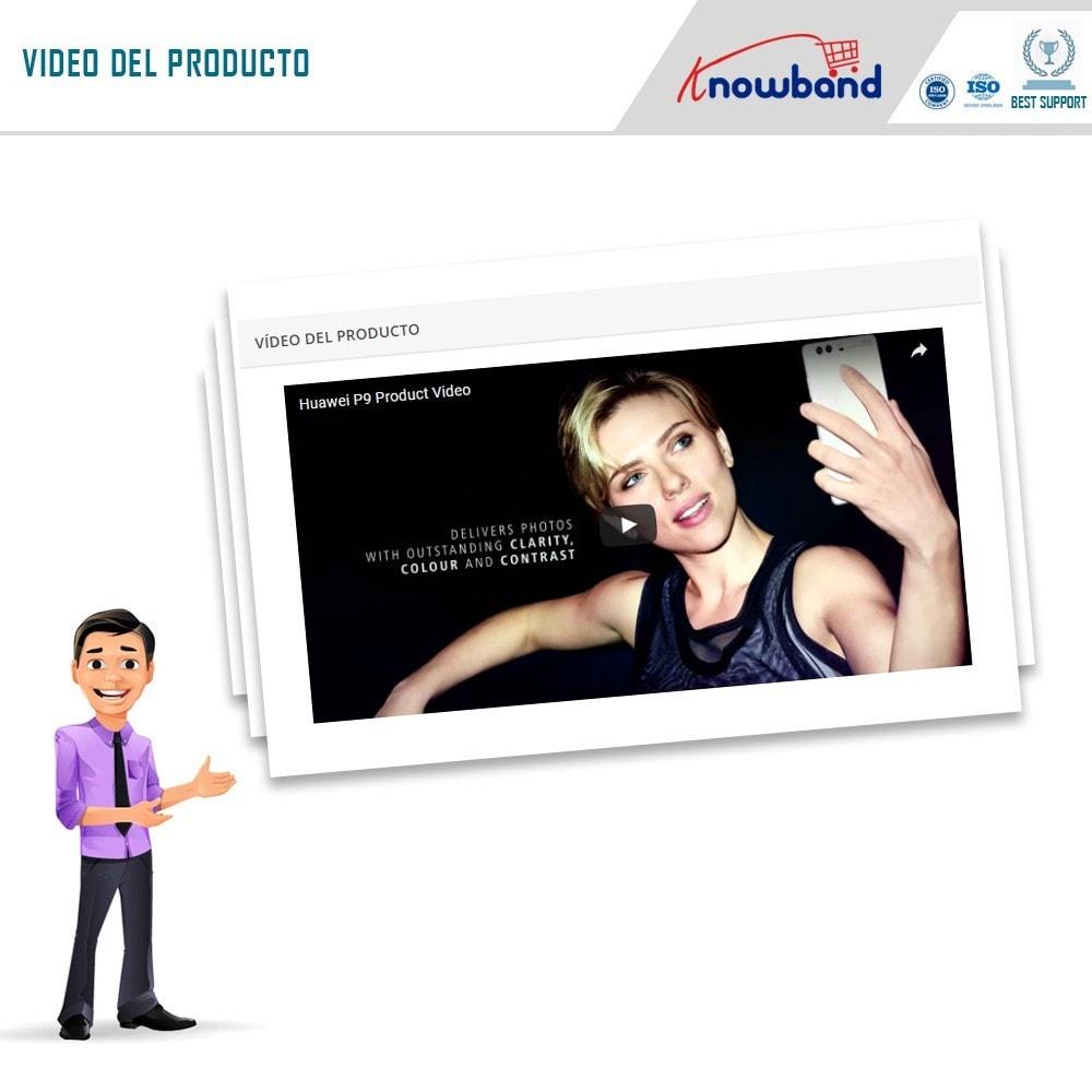 module - Vídeos y Música - Knowband - Video del Producto - 4
