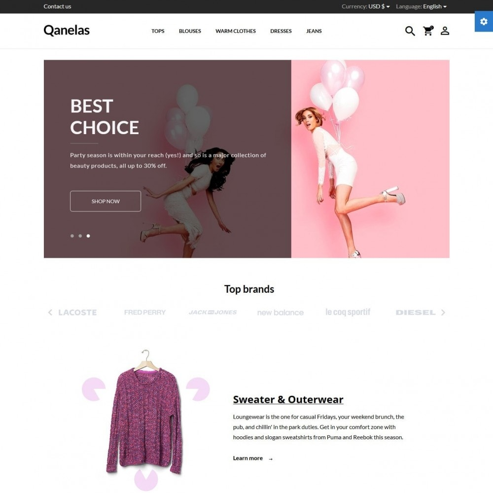 theme - Mode & Schoenen - Qanelas Fashion Store - 2