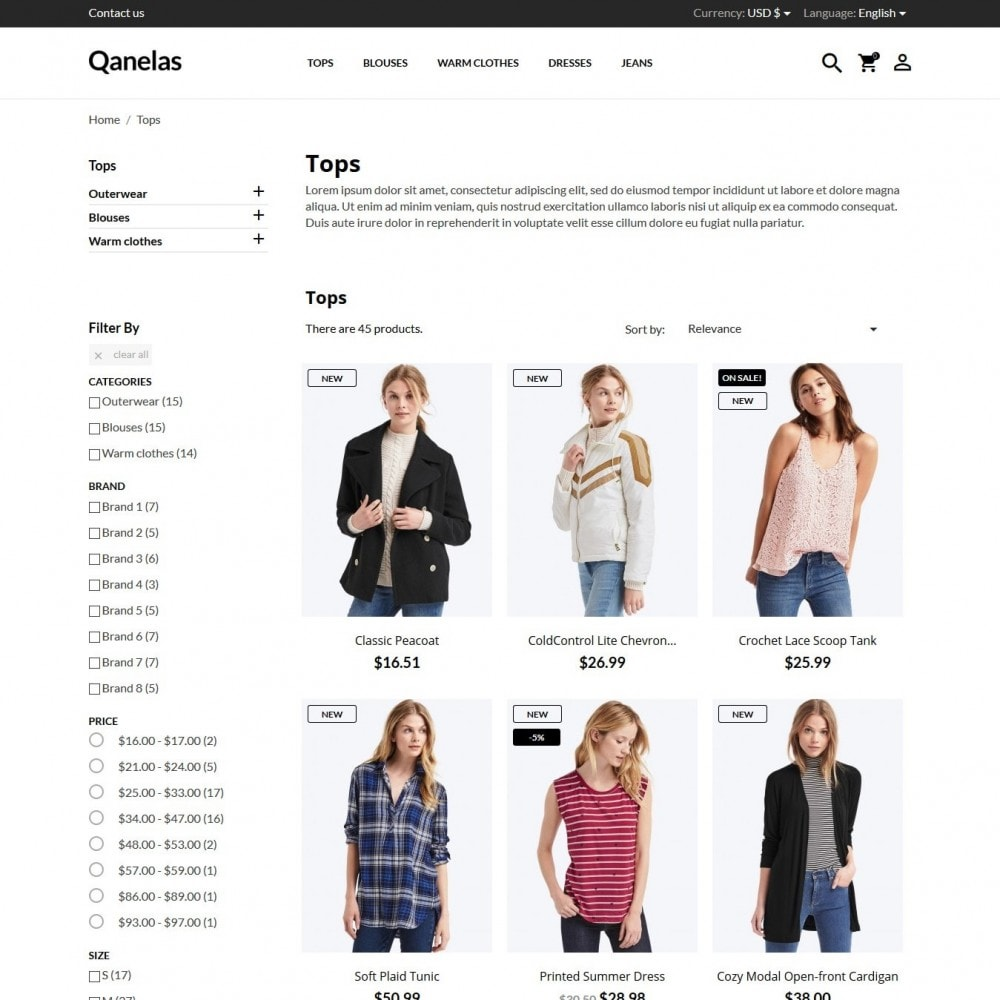 theme - Mode & Schoenen - Qanelas Fashion Store - 6