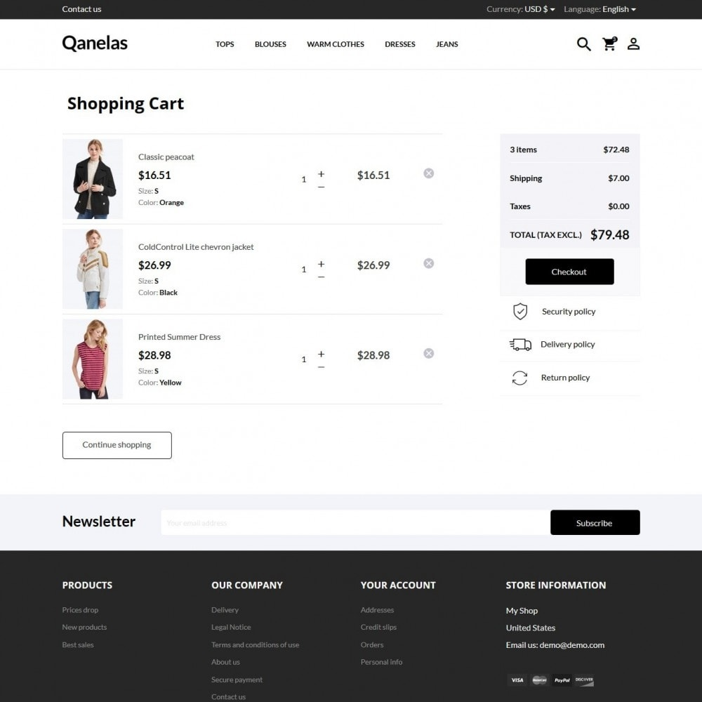 theme - Mode & Schoenen - Qanelas Fashion Store - 8