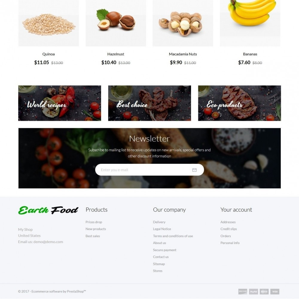 theme - Food & Restaurant - Earth Food - 3