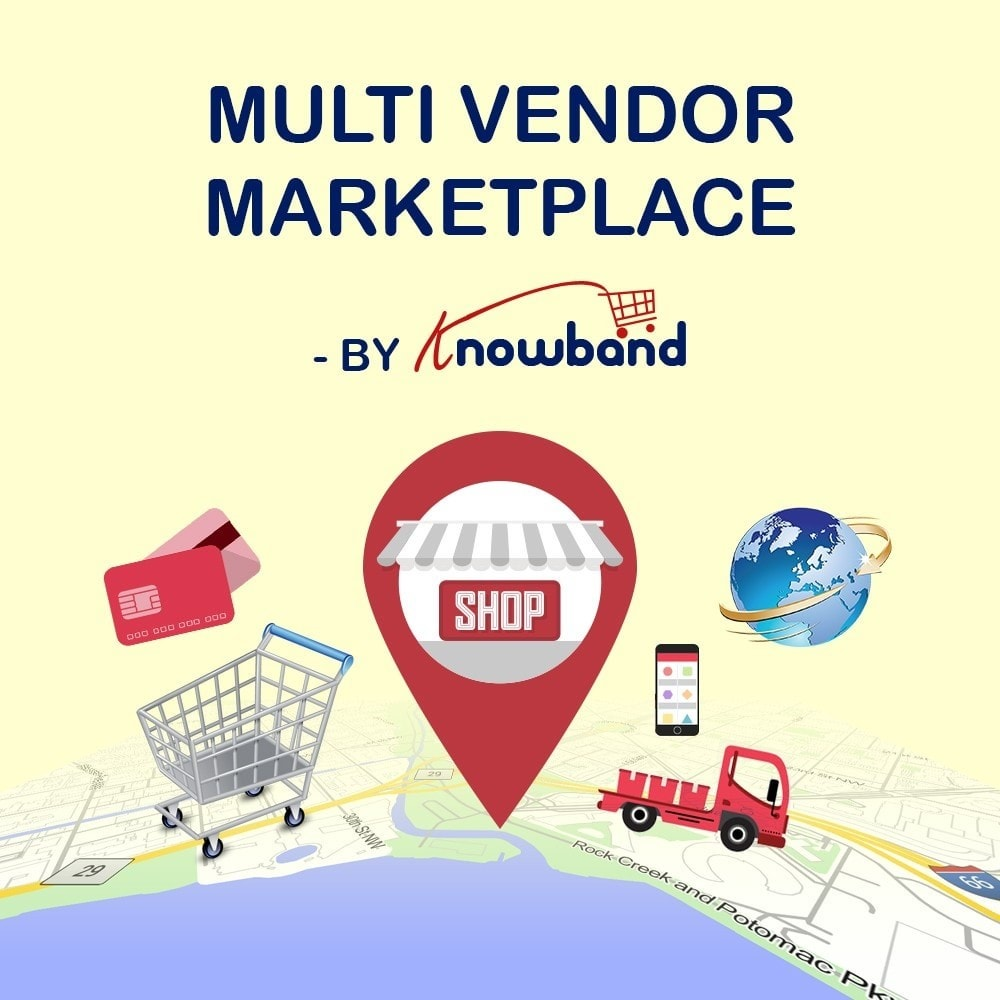 module - Marketplace Erstellen - Knowband - Prestashop Multi Vendor Marketplace - 1