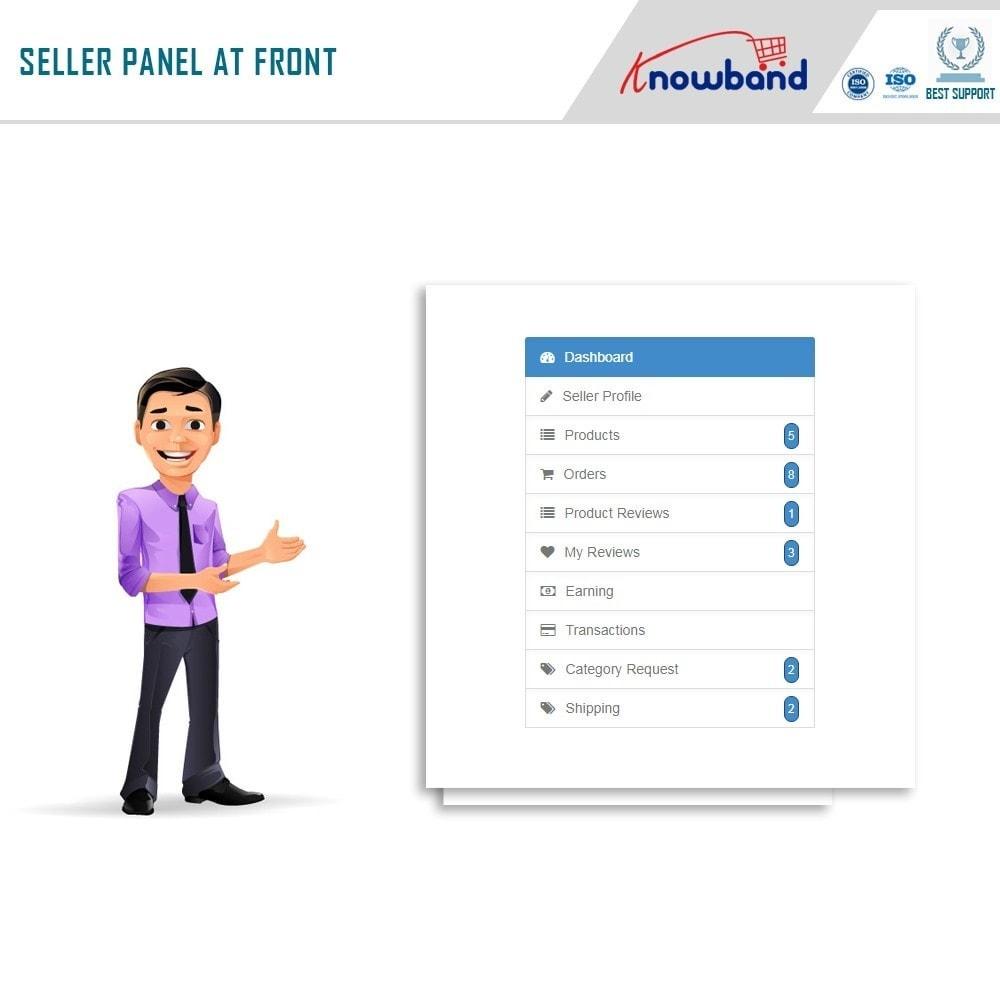 module - Создания торговой площадки - Knowband - Multi Vendor Marketplace - 3