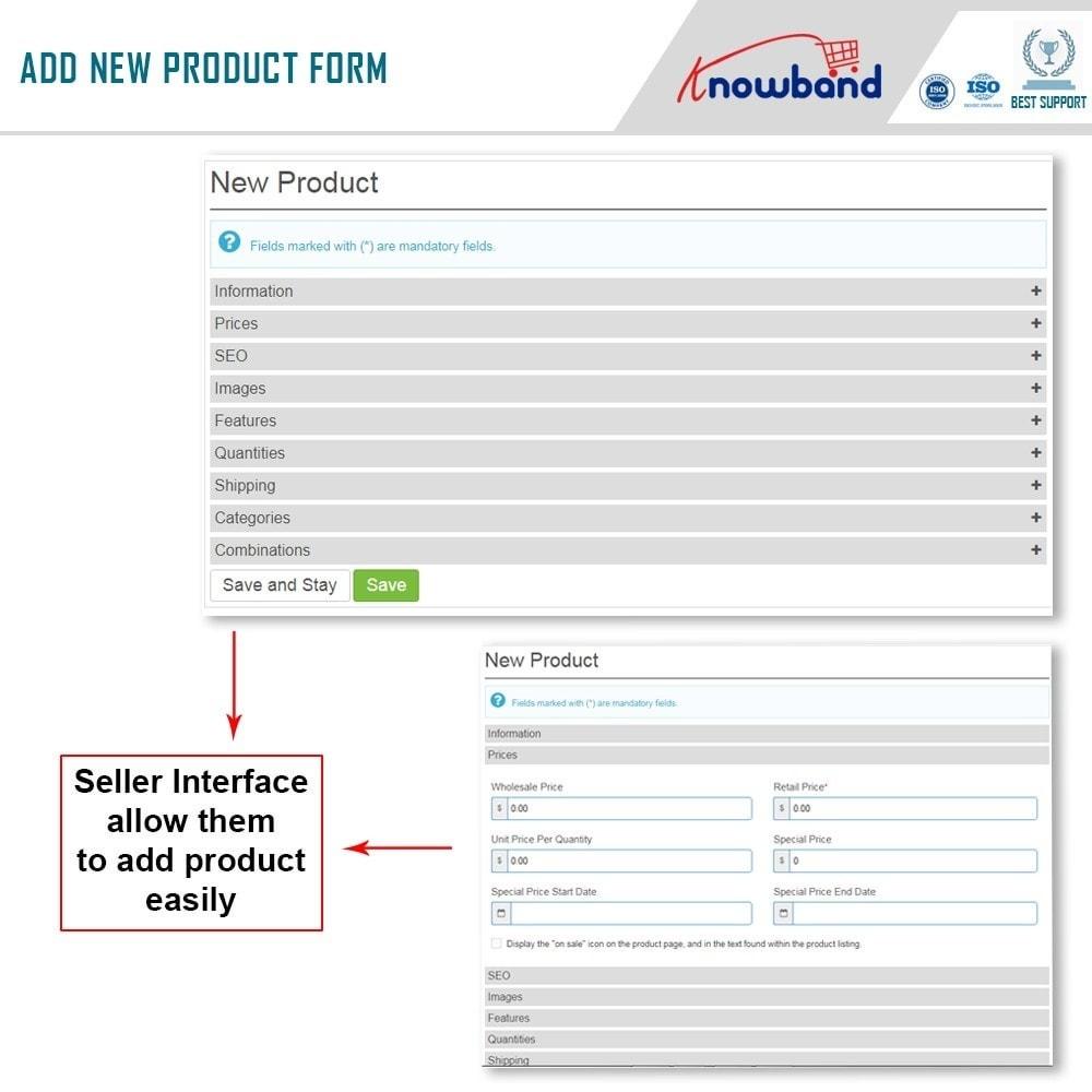 module - Criação de Marketplace - Knowband - Multi Vendor Marketplace - 6