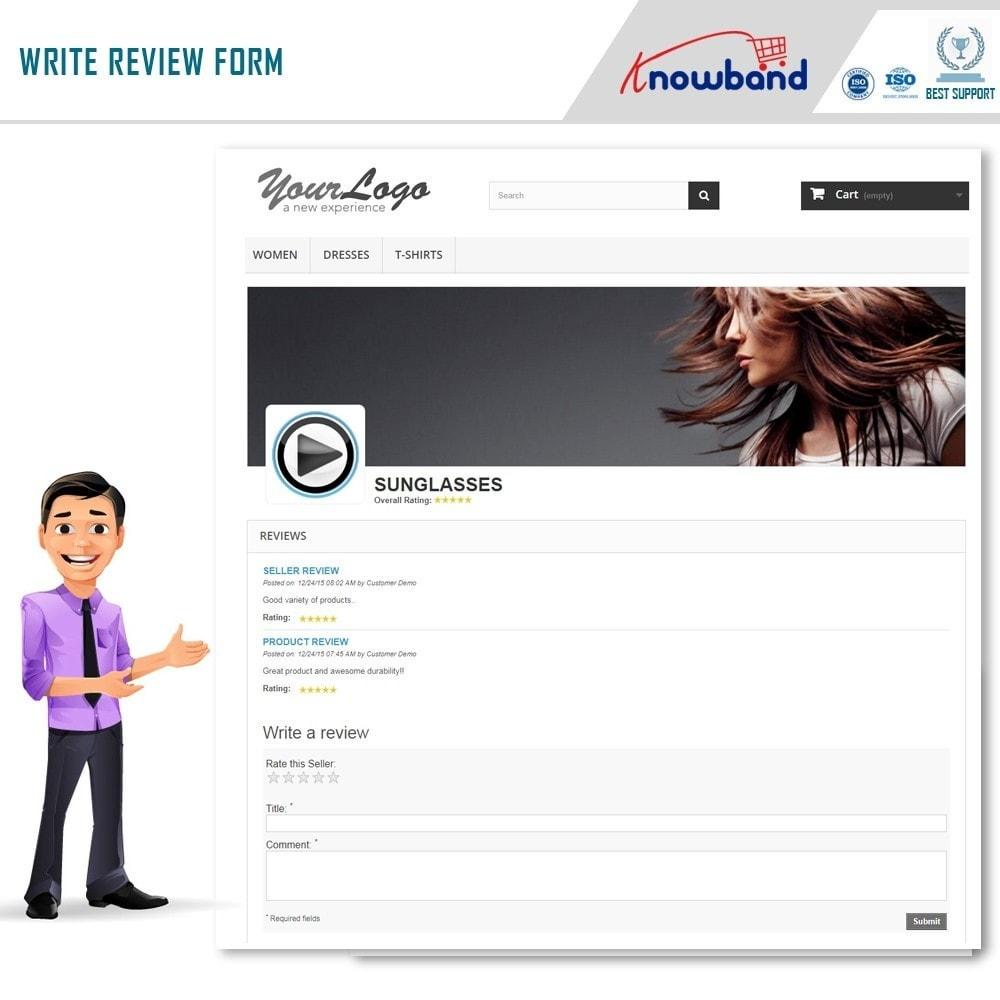 module - Создания торговой площадки - Knowband - Multi Vendor Marketplace - 12