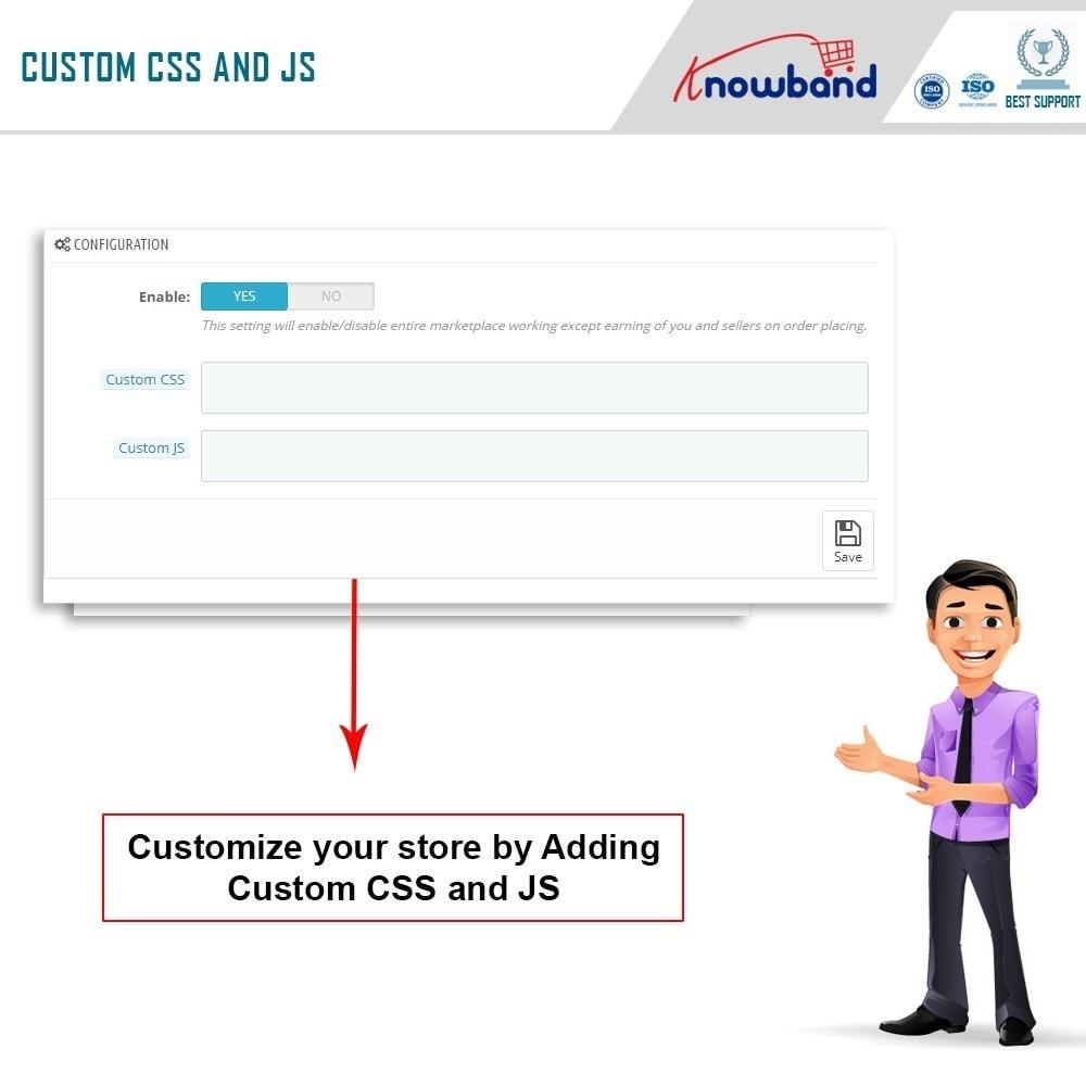module - Создания торговой площадки - Knowband - Multi Vendor Marketplace - 13