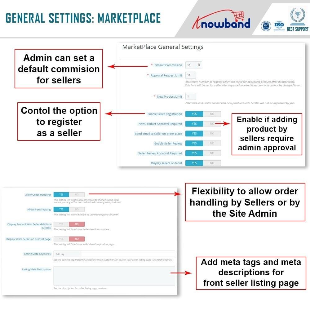module - Creazione Marketplace - Knowband - Marketplace - 14
