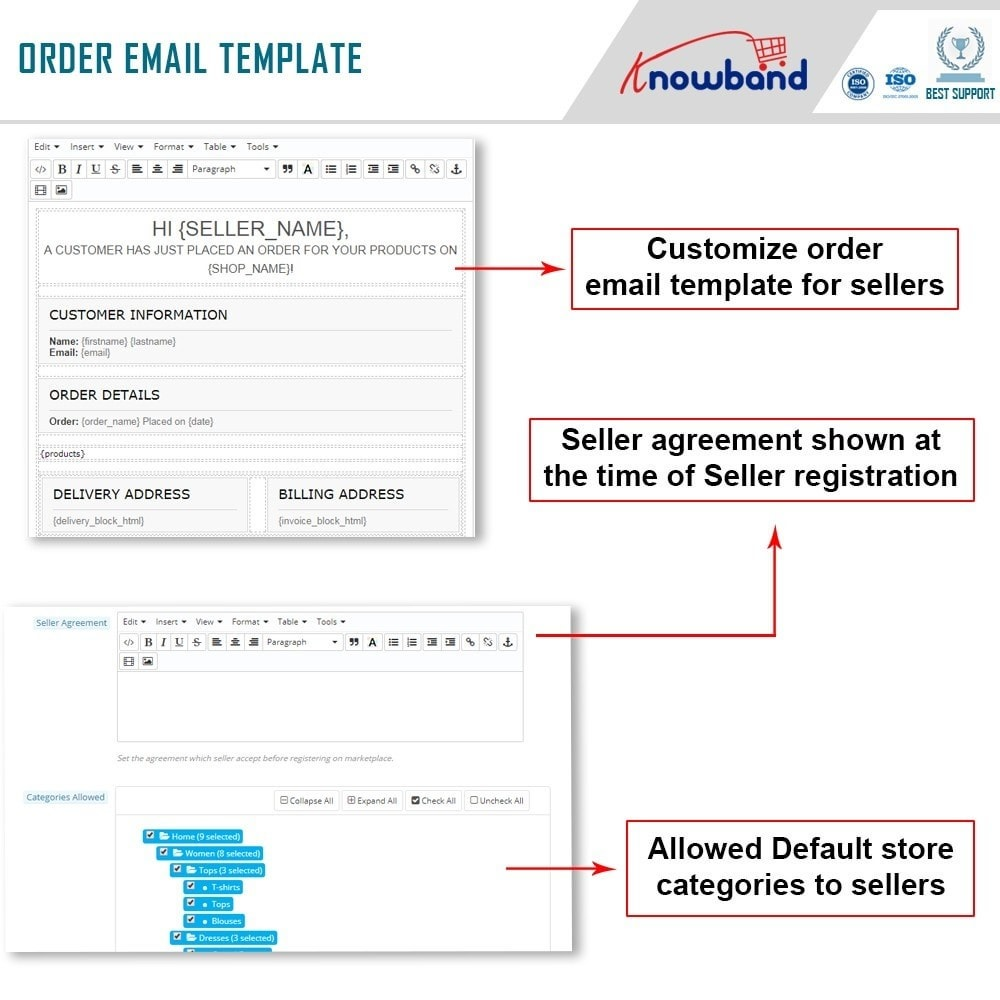 module - Создания торговой площадки - Knowband - Multi Vendor Marketplace - 15