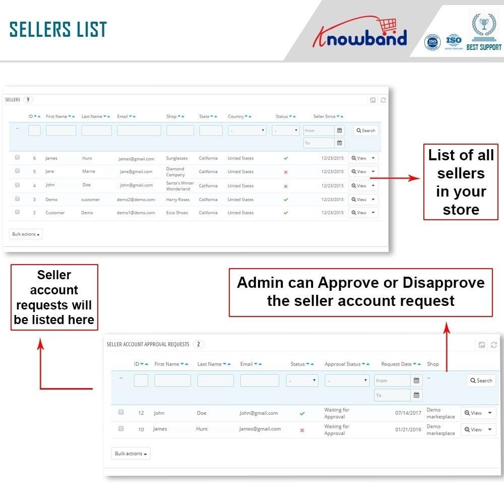 module - Создания торговой площадки - Knowband - Multi Vendor Marketplace - 16