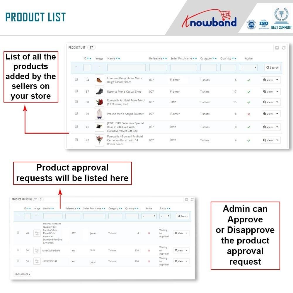module - Создания торговой площадки - Knowband - Multi Vendor Marketplace - 17