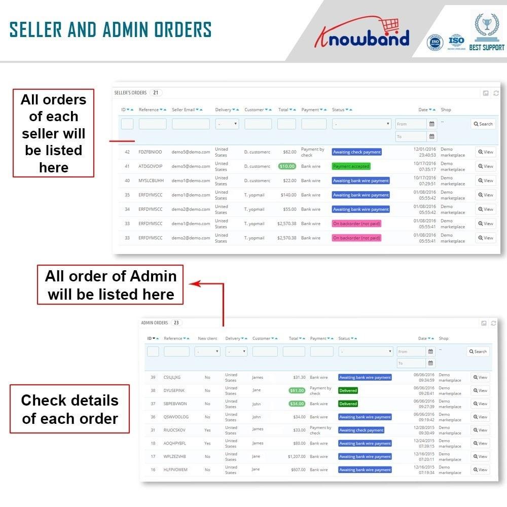 module - Создания торговой площадки - Knowband - Multi Vendor Marketplace - 18