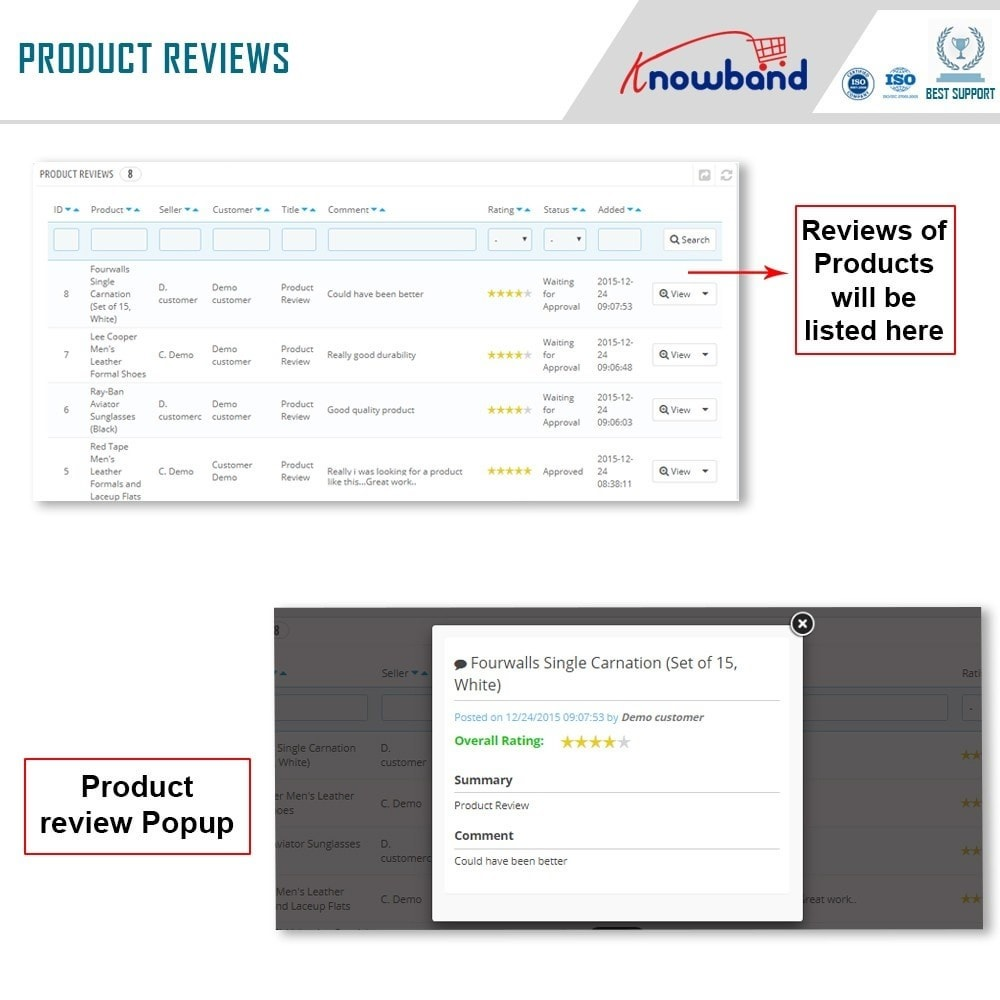 module - Marketplace Erstellen - Knowband - Prestashop Multi Vendor Marketplace - 19