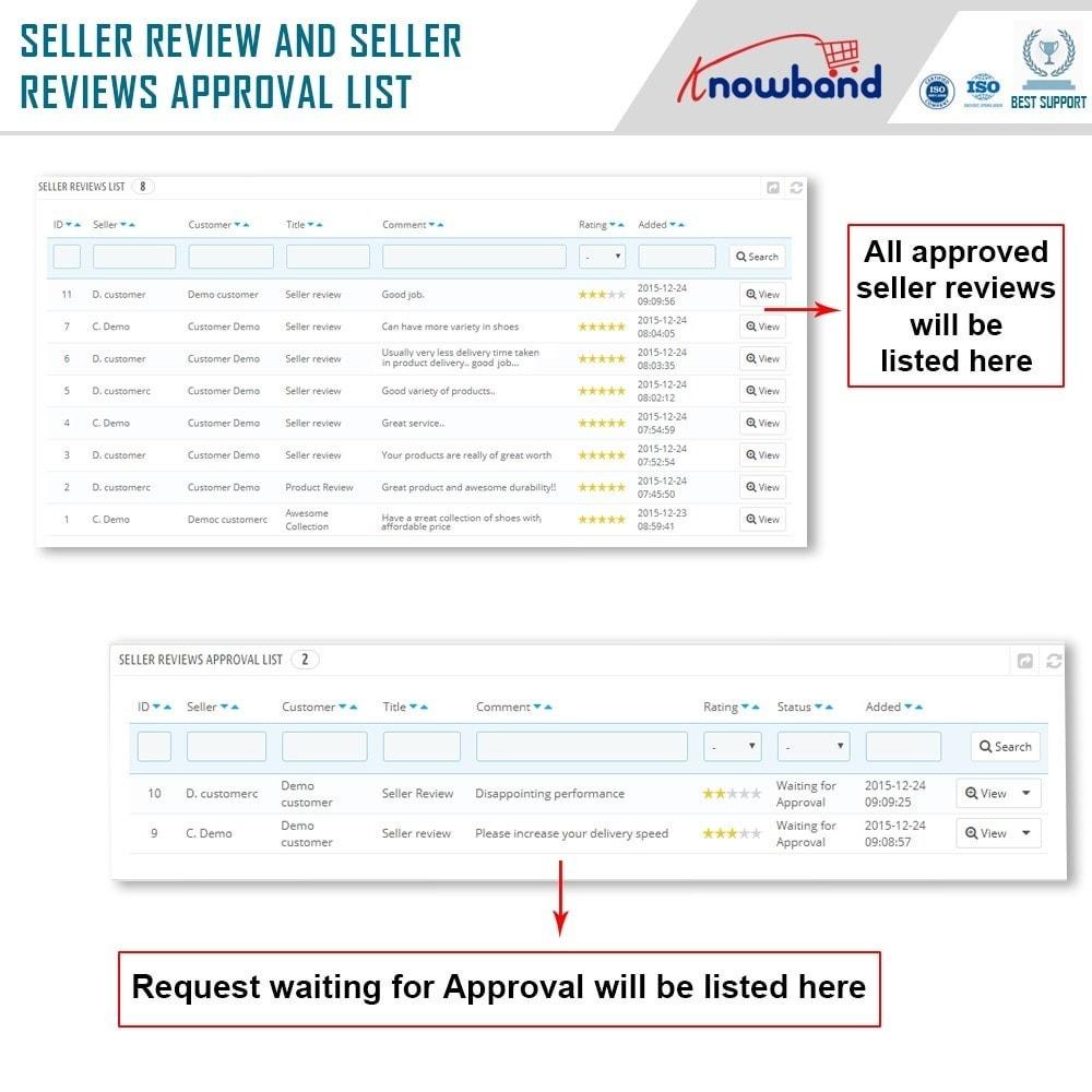 module - Создания торговой площадки - Knowband - Multi Vendor Marketplace - 20