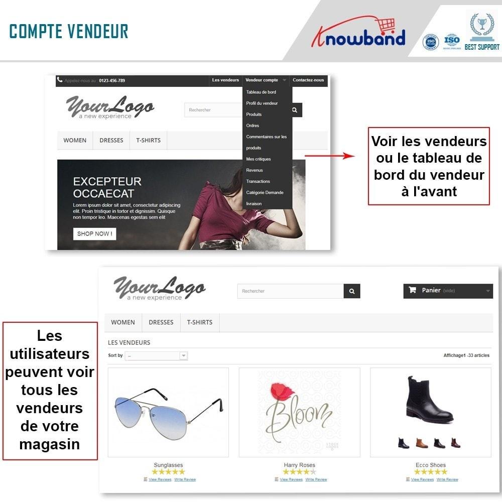 module - Création de Marketplace - Knowband - Prestashop Multi Vendor Marketplace - 1