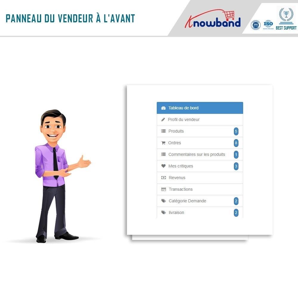 module - Création de Marketplace - Knowband - Prestashop Multi Vendor Marketplace - 2