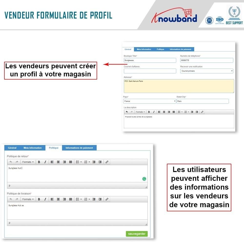 module - Création de Marketplace - Knowband - Prestashop Multi Vendor Marketplace - 4