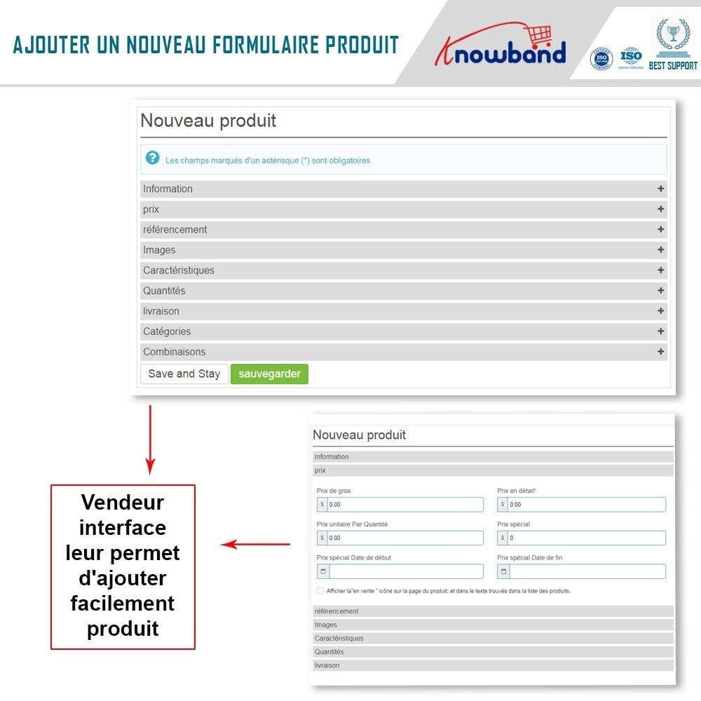 module - Création de Marketplace - Knowband - Prestashop Multi Vendor Marketplace - 5
