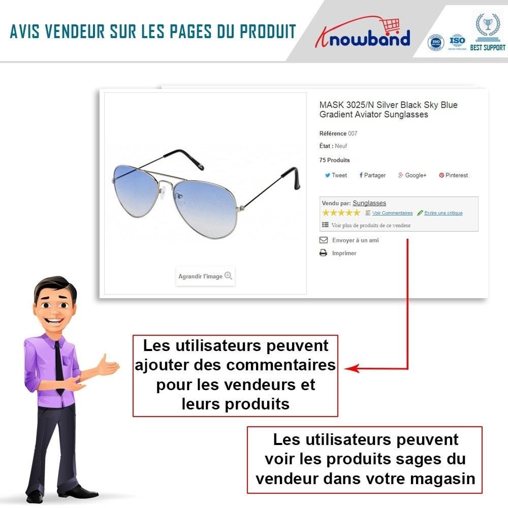 module - Création de Marketplace - Knowband - Prestashop Multi Vendor Marketplace - 10