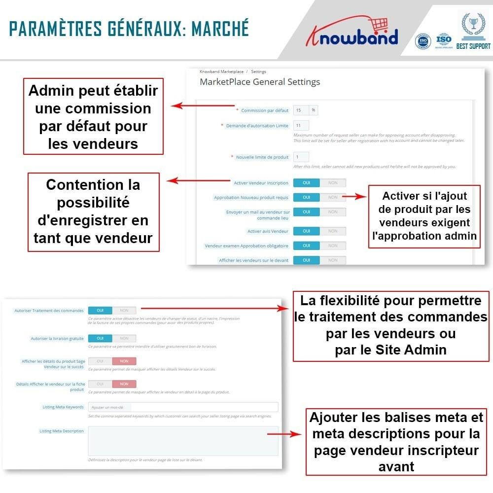 module - Création de Marketplace - Knowband - Prestashop Multi Vendor Marketplace - 13