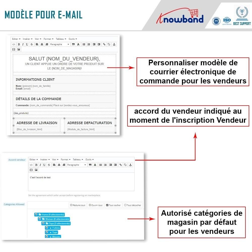 module - Création de Marketplace - Knowband - Prestashop Multi Vendor Marketplace - 14