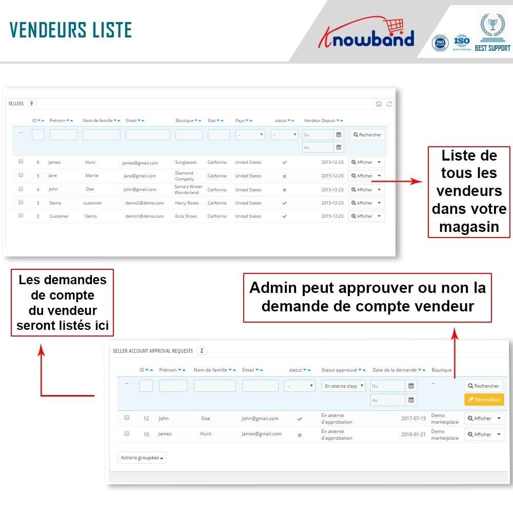 module - Création de Marketplace - Knowband - Prestashop Multi Vendor Marketplace - 15