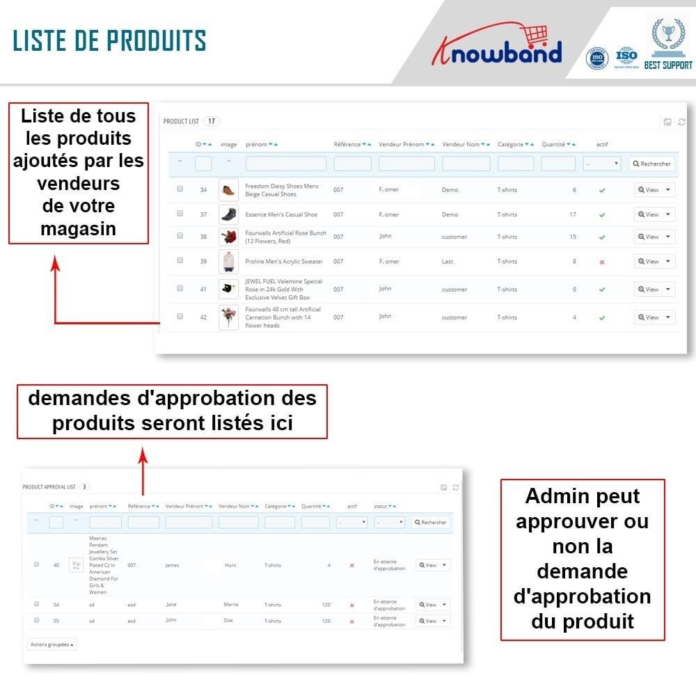 module - Création de Marketplace - Knowband - Prestashop Multi Vendor Marketplace - 16
