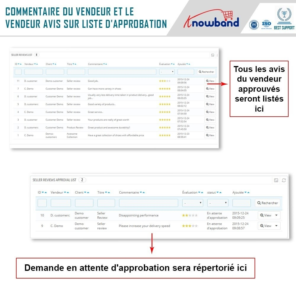 module - Création de Marketplace - Knowband - Prestashop Multi Vendor Marketplace - 19
