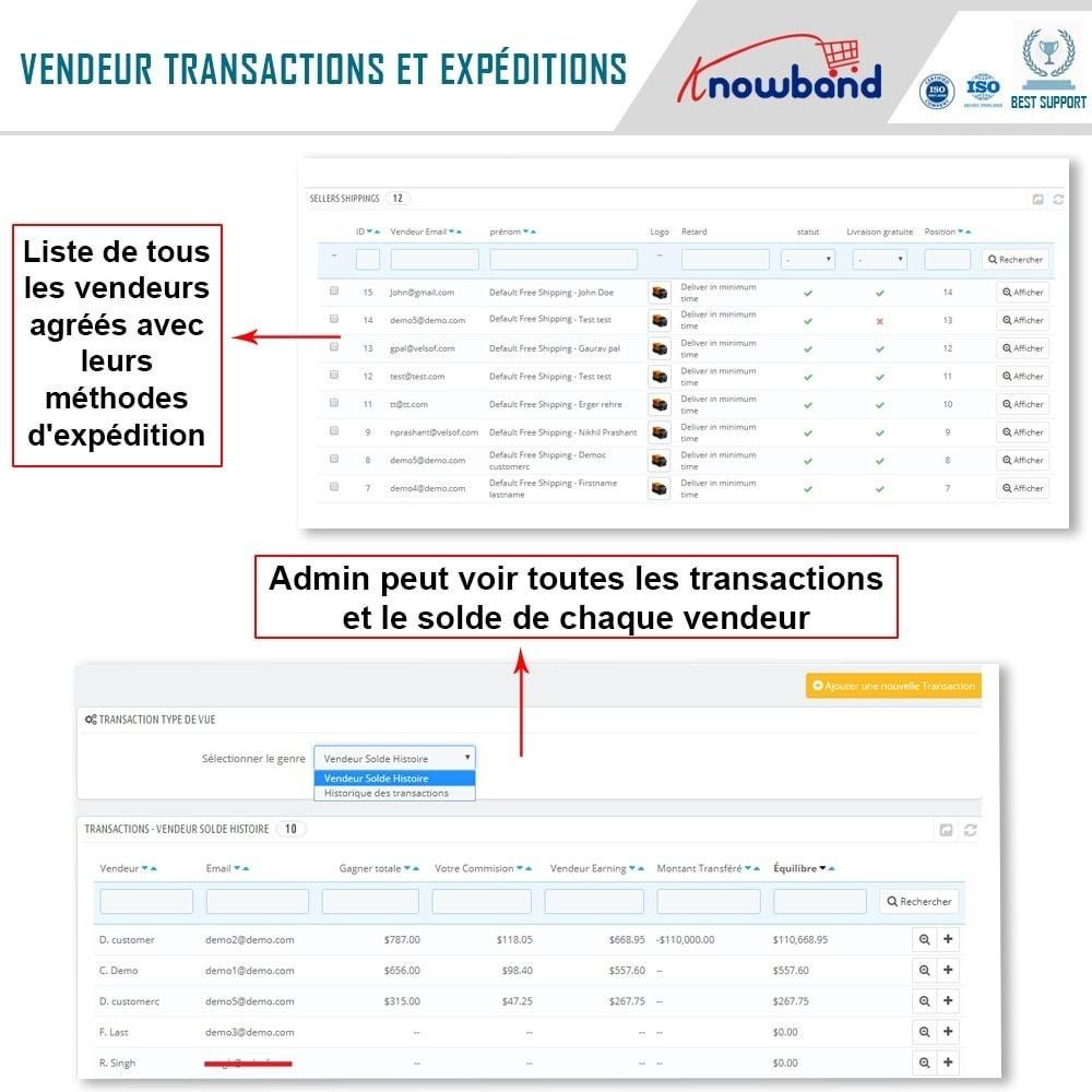module - Création de Marketplace - Knowband - Prestashop Multi Vendor Marketplace - 20