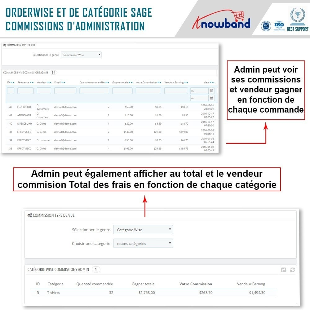 module - Création de Marketplace - Knowband - Prestashop Multi Vendor Marketplace - 21